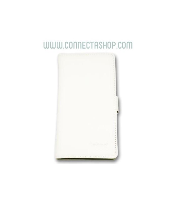 Funda Tipo Libro Elephone P8 Pro Blanca